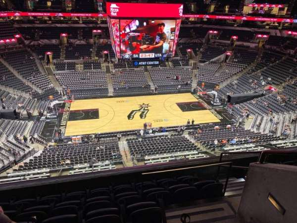 AT&T Center, section: 209, row: 6, seat: 5