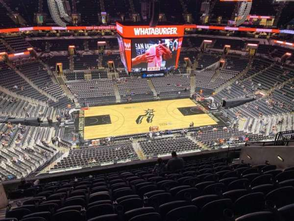 AT&T Center, section: 209, row: 11, seat: 12