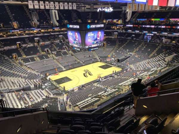AT&T Center, section: 211, row: 9, seat: 13