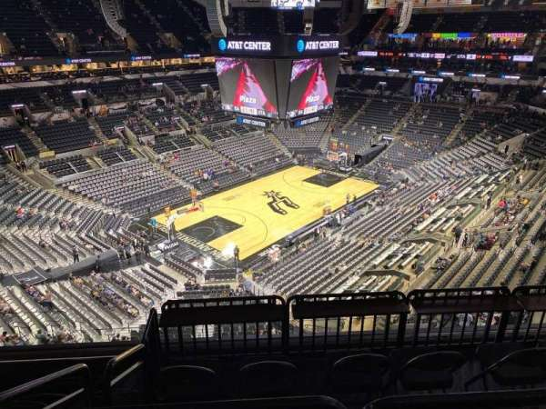 AT&T Center, section: 212, row: 6, seat: 15