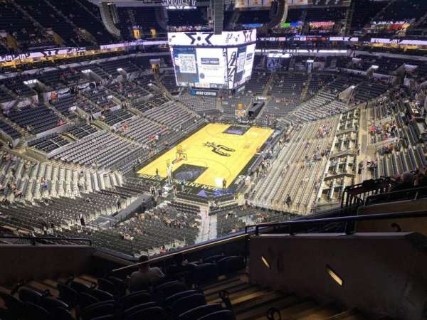 AT&T Center, section: 214, row: 18, seat: 5