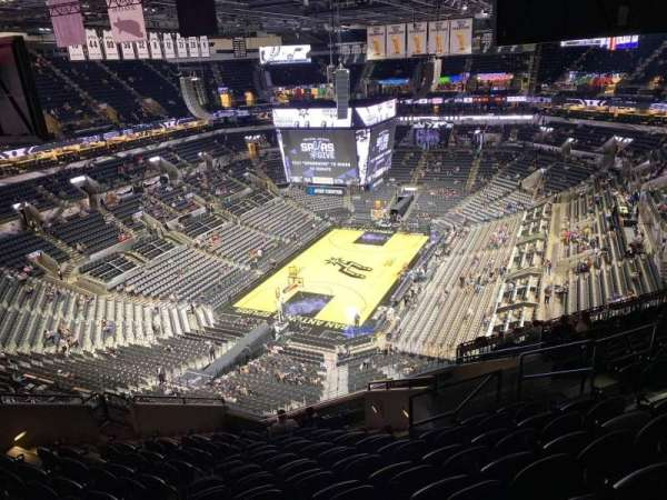AT&T Center, section: 214, row: 13, seat: 8