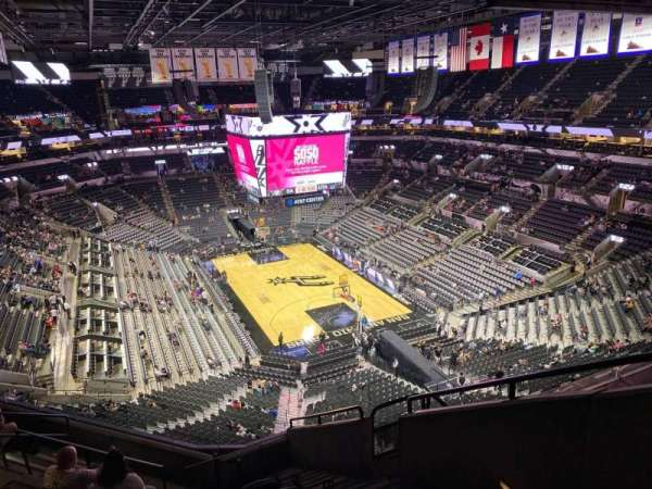 AT&T Center, section: 218, row: 19, seat: 3