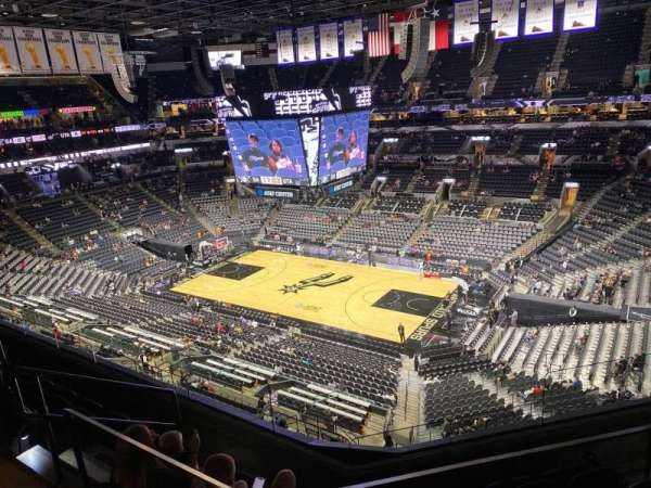 AT&T Center, section: 221, row: 5, seat: 6