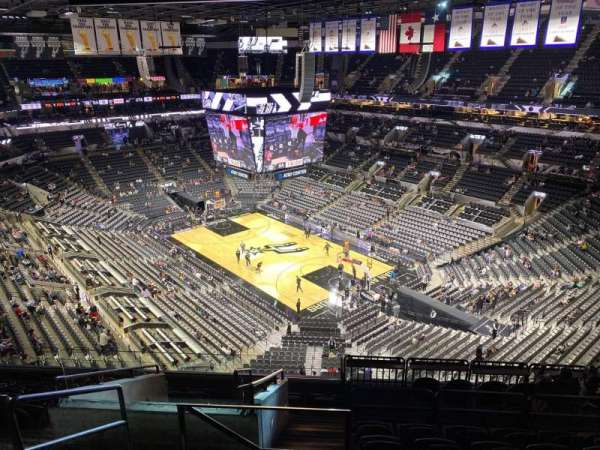 AT&T Center, section: 219, row: 11, seat: 18