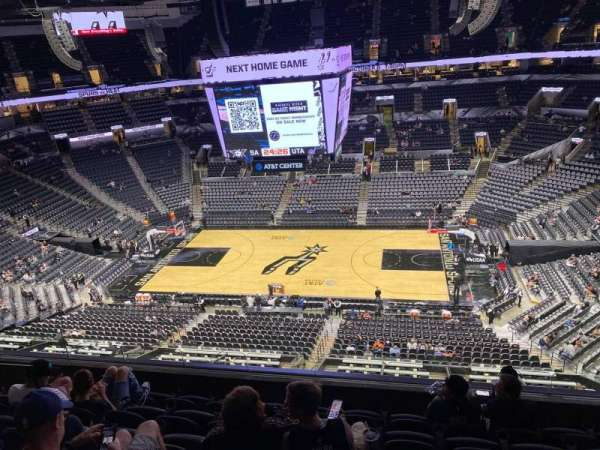 AT&T Center, section: 207, row: 6, seat: 9
