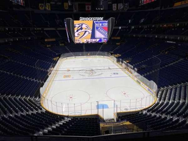 Bridgestone Arena, section: 317, row: D, seat: 8