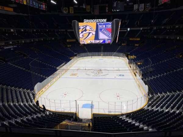 Bridgestone Arena, section: 318, row: D, seat: 9