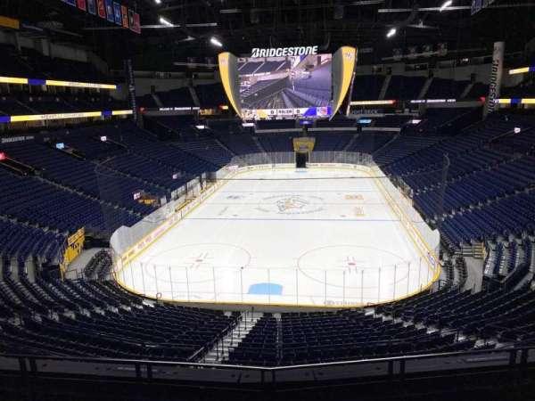 Bridgestone Arena, section: 201, row: D, seat: 7