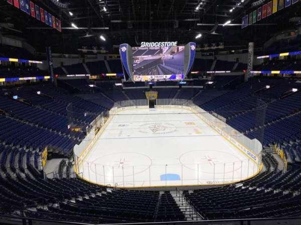 Bridgestone Arena, section: 224, row: D, seat: 5