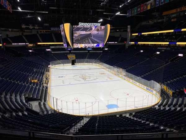 Bridgestone Arena, section: 223, row: D, seat: 6