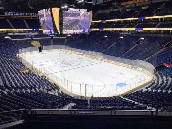 Bridgestone Arena, section: 221, row: D, seat: 3