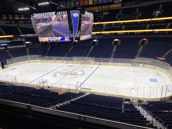 Bridgestone Arena, section: 501 Club, row: C, seat: 7