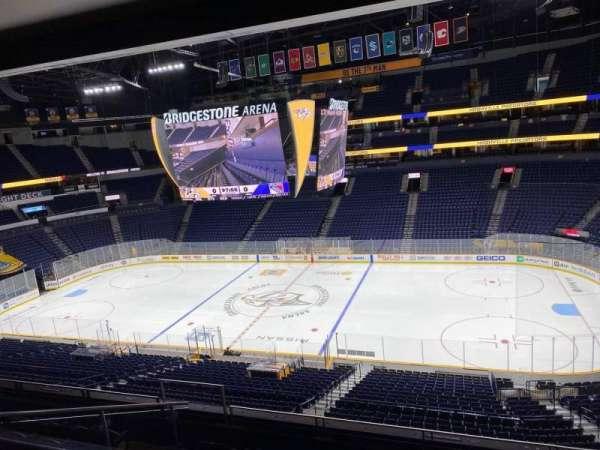 Bridgestone Arena, section: 501 Club, row: Bar