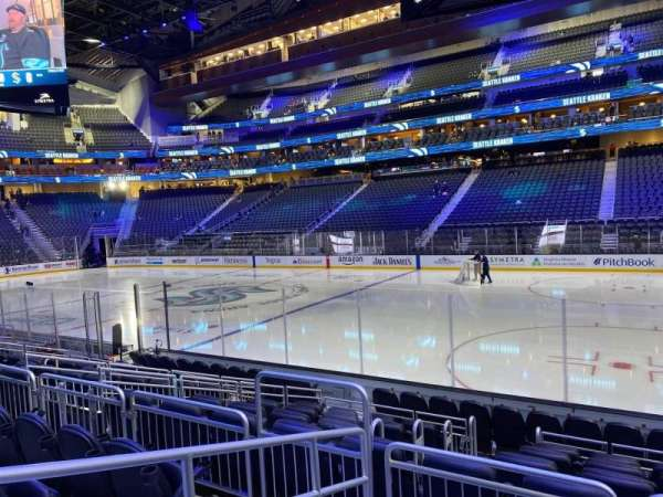 Climate Pledge Arena, section: 25, row: J, seat: 5
