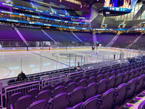 Climate Pledge Arena, section: 02, row: L, seat: 22