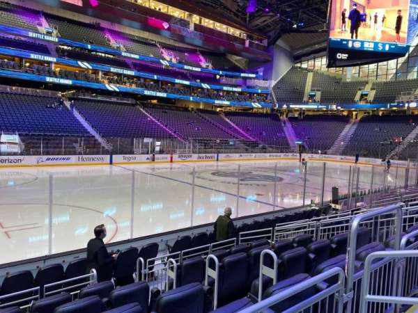 Climate Pledge Arena, section: 03, row: G, seat: 5