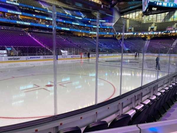 Climate Pledge Arena, section: 04, row: C, seat: 7