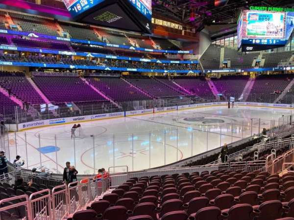 Climate Pledge Arena, section: 04, row: Q, seat: 16