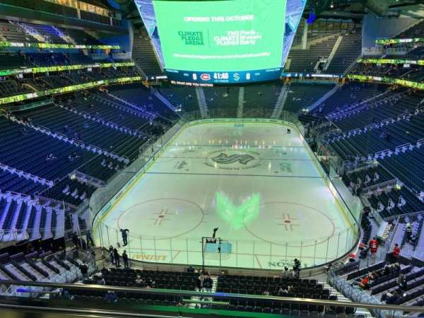 Climate Pledge Arena, section: 107, row: C, seat: 19