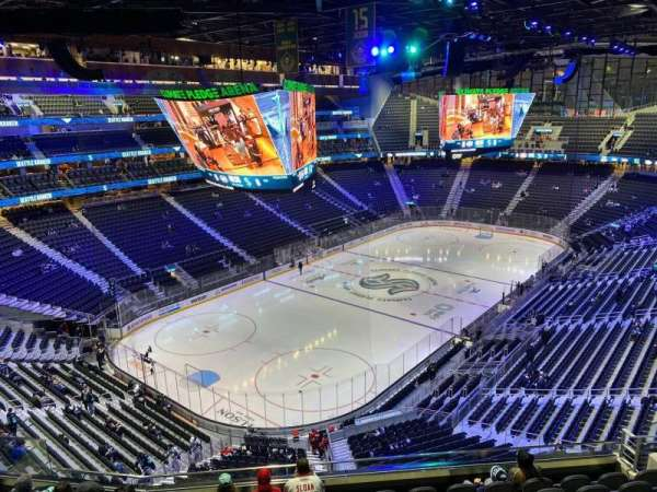 Climate Pledge Arena, section: 105, row: H, seat: 8