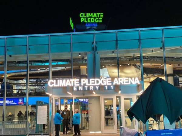 Climate Pledge Arena, section: Entry 11