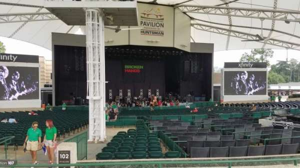 Cynthia Woods Mitchell Pavilion, section: 107, row: C, seat: 5