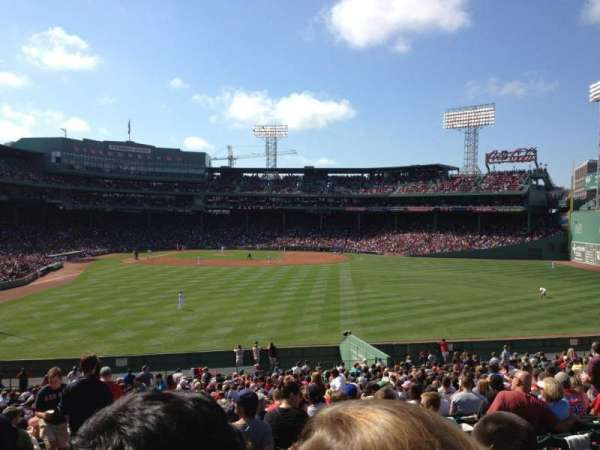 Fenway Park, section: Bleacher 42, row: 33, seat: 25
