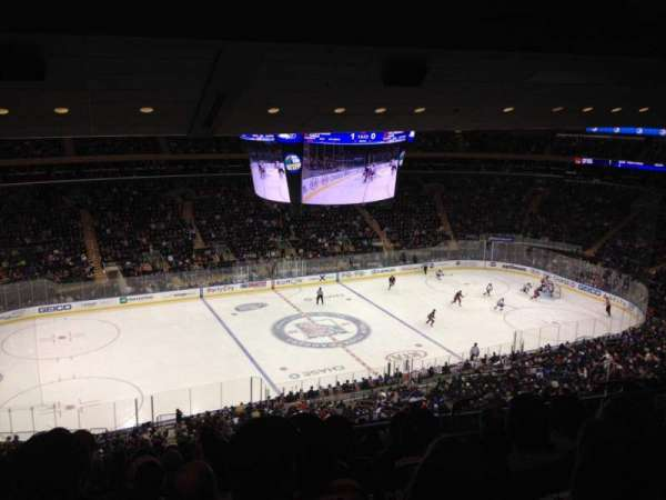 Madison Square Garden, section: 209, row: 16, seat: 17