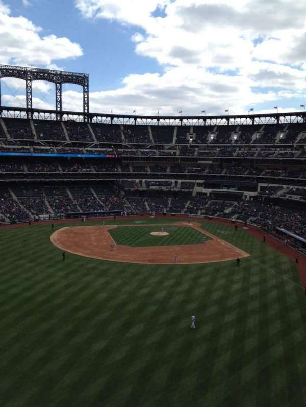Citi Field, section: 434, row: 1, seat: 1