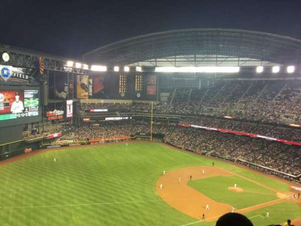 Chase Field, section: 328, row: 27, seat: 2