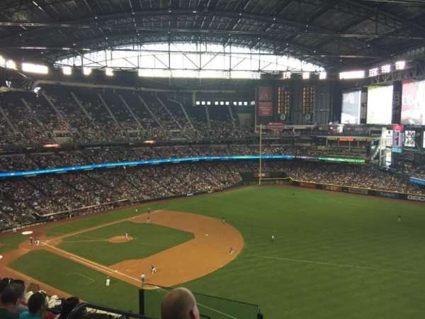 Chase Field, section: 304, row: 13, seat: 16
