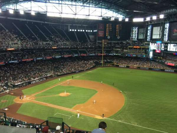 Chase Field, section: 307, row: 11, seat: 10