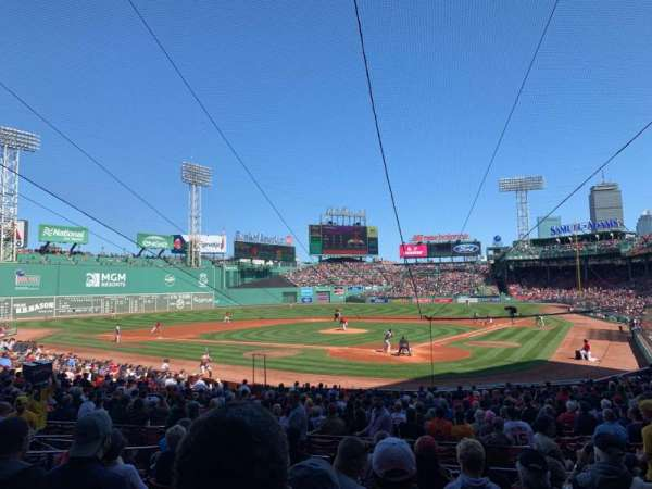 Fenway Park, section: Loge Box 133, row: JJ, seat: 8