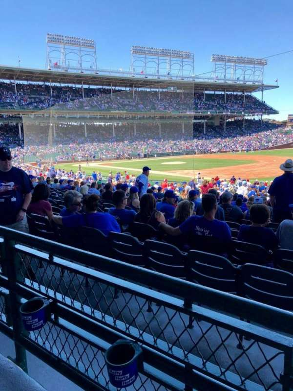 Wrigley Field, section: 228, row: 1, seat: 9