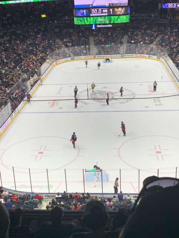 Nationwide Arena, section: 224, row: F, seat: 5