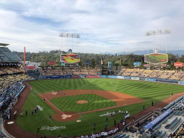 Dodger Stadium, section: 4RS, row: A, seat: 9