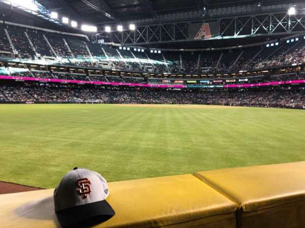 Chase Field, section: 144, row: 11, seat: 20