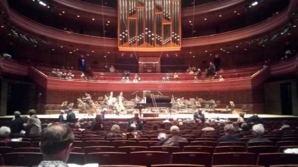 Verizon Hall at the Kimmel Center, section: Orchestra, row: U, seat: 110
