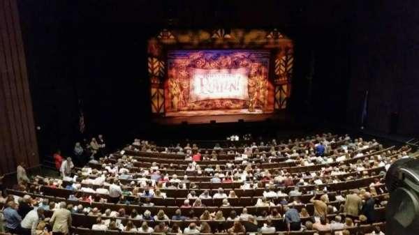 Chapman Music Hall - Tulsa Performing Arts Center, section: M, row: H, seat: 10