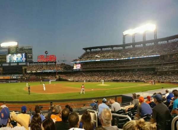Citi Field, section: 124, row: 6, seat: 3