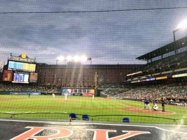 Oriole Park at Camden Yards, section: 48, row: 1, seat: 9