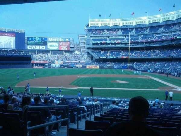 Yankee Stadium, section: 123, row: 29, seat: 14