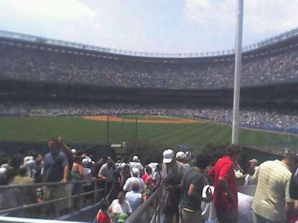 Old Yankee Stadium, section: 55, row: F, seat: 20