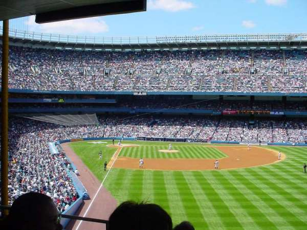 Old Yankee Stadium, section: 527, row: C, seat: 8