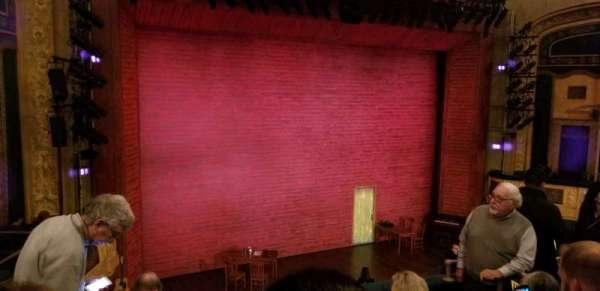 Shubert Theatre, section: Mezzanine Left, row: E, seat: 15