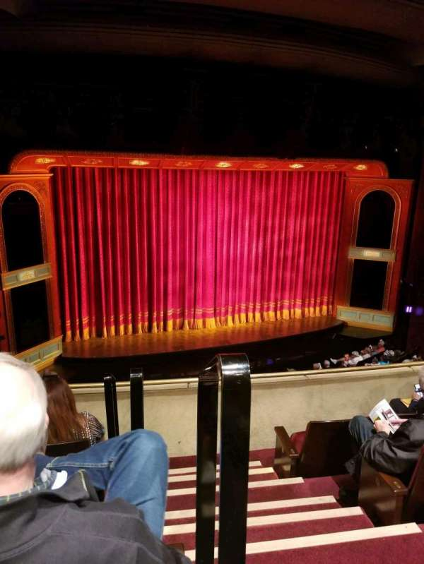 Marquis Theatre, section: Mezz, row: D, seat: 1