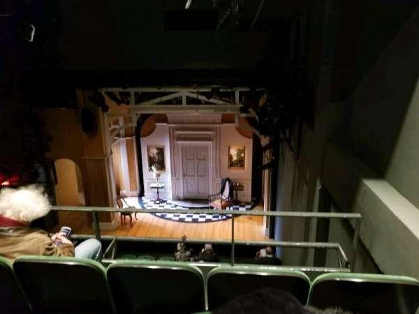 The Irish Repertory Theater, section: Balcony, row: C, seat: 107
