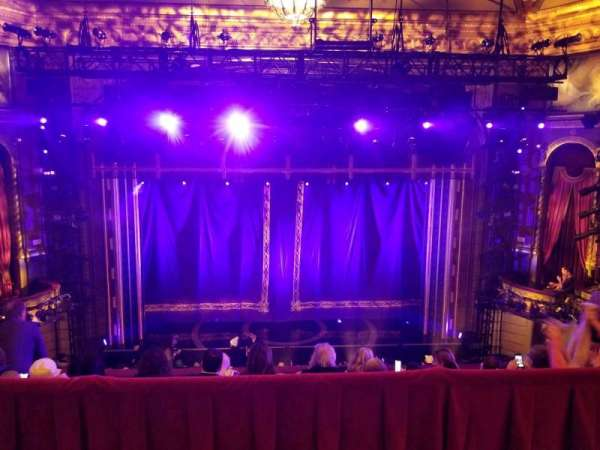 Brooks Atkinson Theatre, section: Rear Mezzanine LC, row: E, seat: 115
