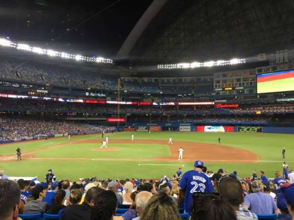 Rogers Centre, section: 116L, row: 28, seat: 110